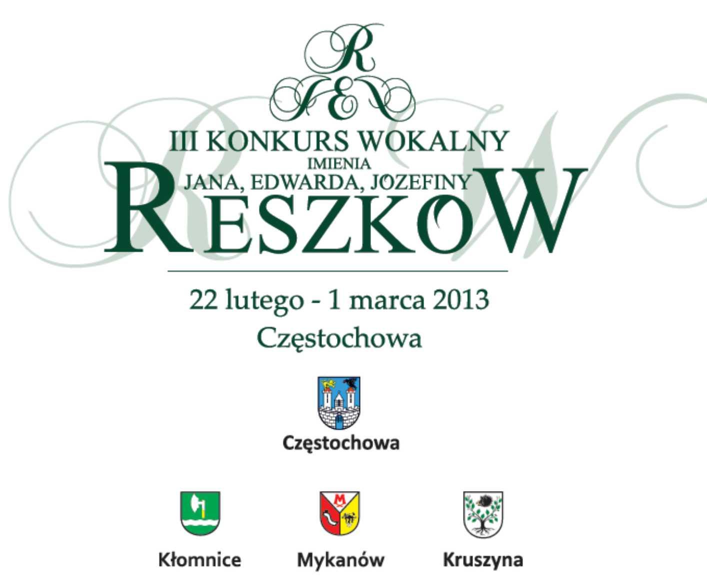 III Konkurs Reszkow