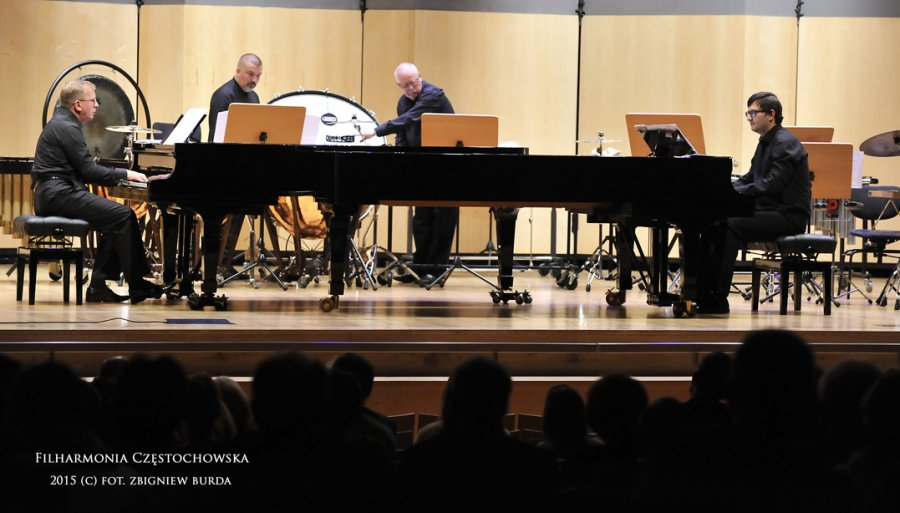 Percussion and Pianos Ensemble